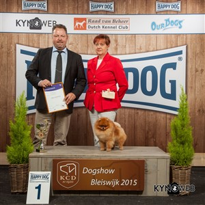 FCI group V - Winners of the International Dog Show in Bleiswijk (Netherlands), Sunday, 8 November 2015 (BIS photo)