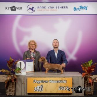 FCI group IV - Winners of the International Dog Show in Maastricht (Netherlands), Saturday, 26 September 2015