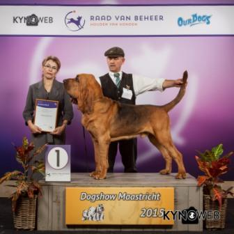 FCI group VI - Winners of the International Dog Show in Maastricht (Netherlands), Saturday, 26 September 2015