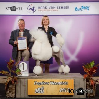 FCI group IX - Winners of the International Dog Show in Maastricht (Netherlands), Saturday, 26 September 2015