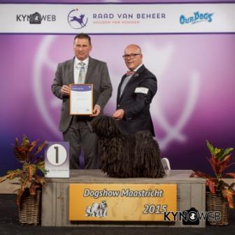 FCI group I - Winners of the International Dog Show in Maastricht (Netherlands), Sunday, 27 September 2015