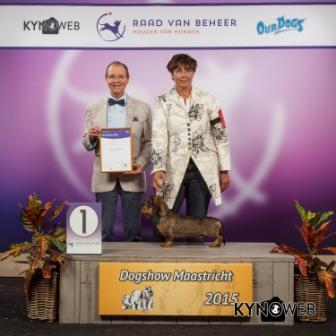 FCI group IV - Winners of the International Dog Show in Maastricht (Netherlands), Sunday, 27 September 2015